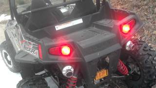 POLARIS RZR S 800 LTE LOONEY TOONES DUAL EXHAUST
