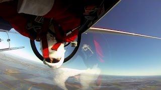 """Santa Claus"" CRAZY Flying Aerobatics - Stunt by Luca Bertossio"