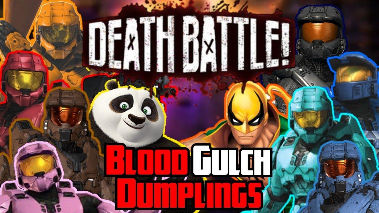 Blood Gulch Dumplings - Death Battle Mashup