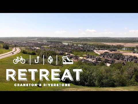 Retreat In Riverstone Townhouse And Community Tour | Calgary Townhouse For Sale