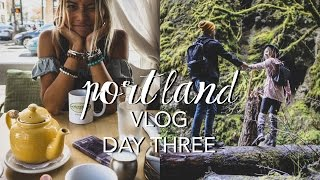 Portland Vlog: Day 3 (What I Ate + Hiking in Oregon)