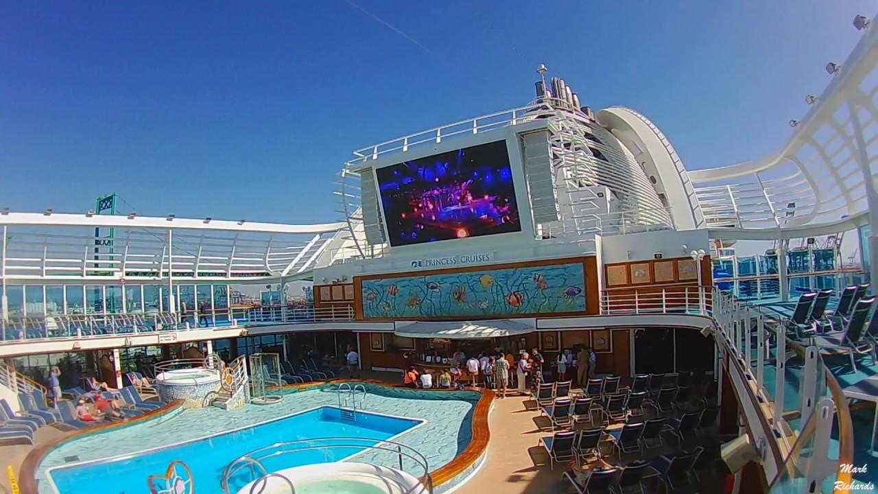 Princess Cruises Ruby Video Tour Classic California Coast - California coast cruises