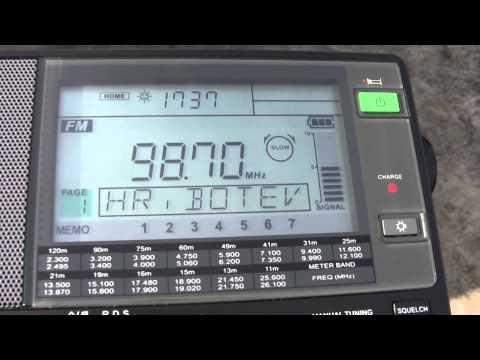 FM scan Kenana, Haskovo, Bulgaria 09.05.2015