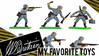 VLOG - My favourites part 1- Britains Toy soldiers and Dinky War vehicles
