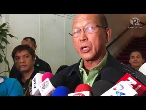 Lorenzana explains controversy in warships deal