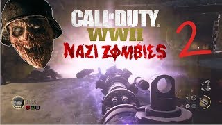 Call Of Duty WWII Zombies: The Final Reich: Round 17 (No commentary)
