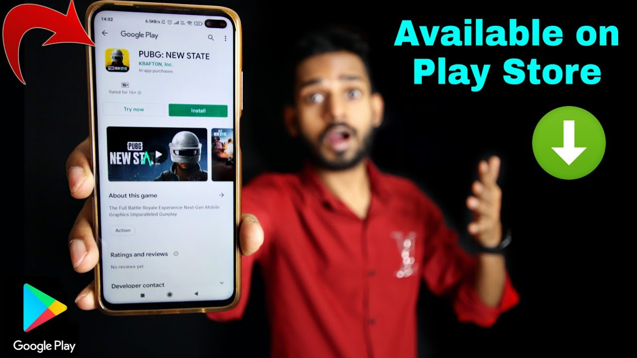 PUBG New State Available On Play Store | Pre-registration | PUBG Mobile 2