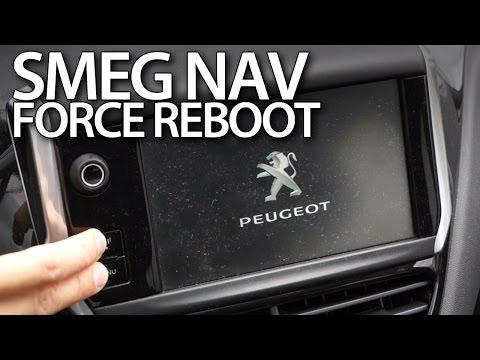 SMEG Navigation Force Reboot In Peugeot And Citroen