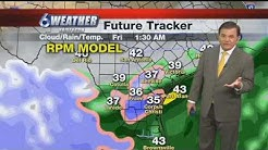 Could we see snow in Corpus Christi Friday?