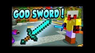 как скрафтить меч бога без модов
