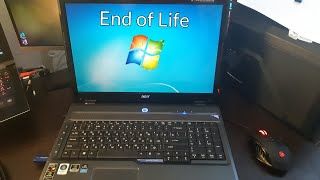 Using Windows 7 for its final days... [Windows 7 End of Life]