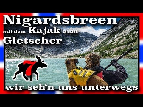 Nigardsbreen - mit Kajak und Camper nach Norwegen | V07/ S4 | wirsehnunsunterwegs.de