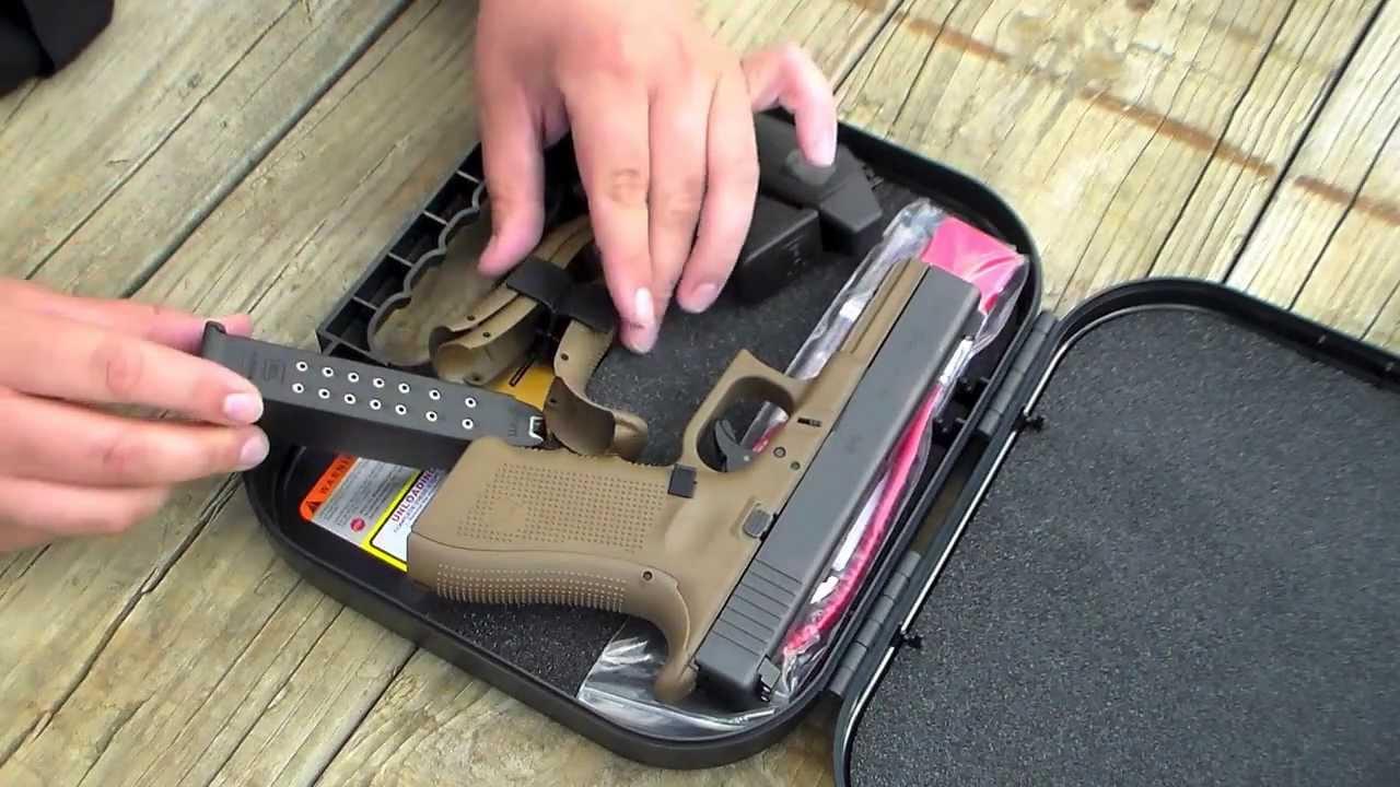 Glock 17 Gen 4 Flat Dark Earth Unboxing