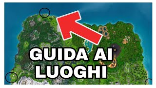 SEE THE MORE NORTH, SOUTH, EST and OVEST OF ISOLA ( SFIDE PASS WEEK 2 FORTNITE)