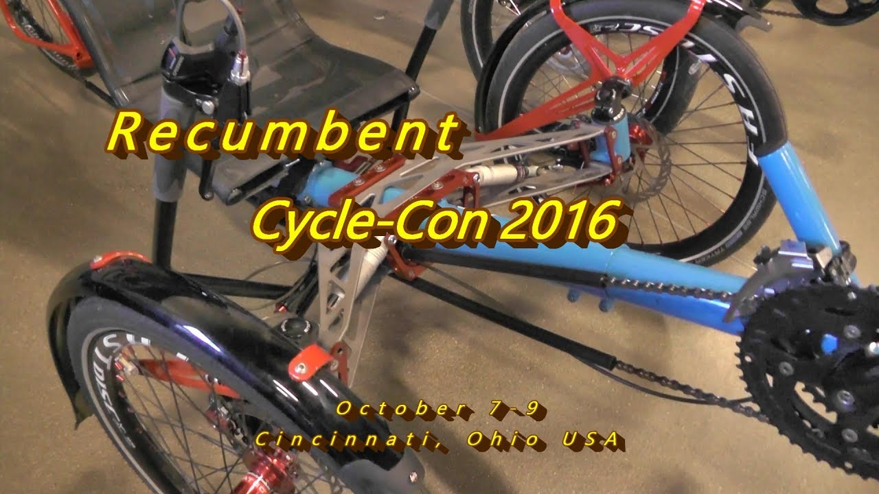 recumbent cycle-con 2016, trikes, bikes & accessories ., no
