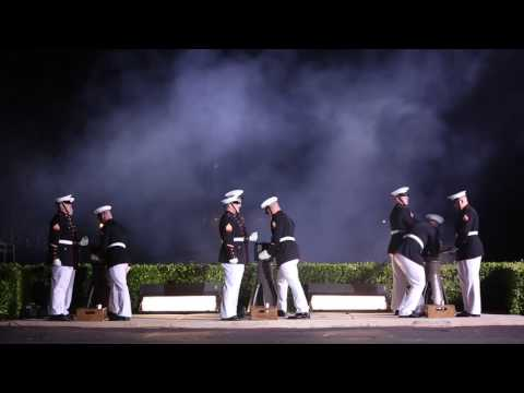 Marine Corps Body Bearers B-Roll