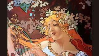 """Уроки живописи. Портрет. (Альфонс Муха """"Весна"""")"""