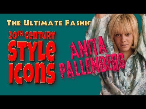 20th CENTURY STYLE ICONS: Anita Pallenberg