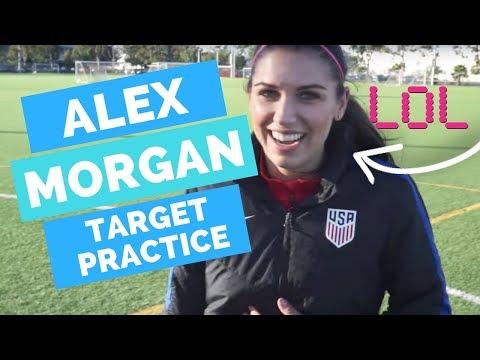 Alex Morgan Target Practice