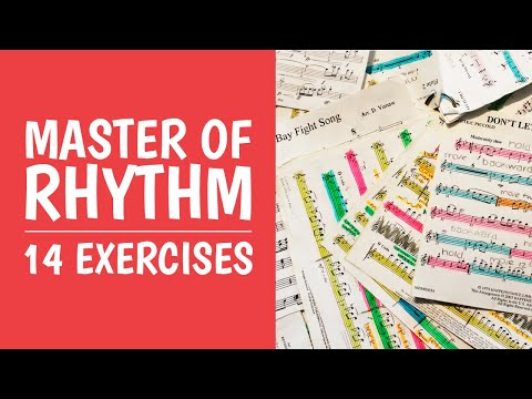 5. Learn Rhythm [14 Exercises] Ties, Dotted Notes, Staccato and Triplets (Easy Music Theory)