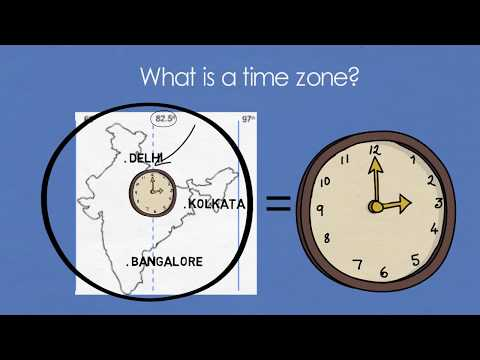 Does India require multiple time zones?