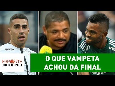 OLHA O Que VAMPETA Achou De Corinthians 0 X 1 Palmeiras!