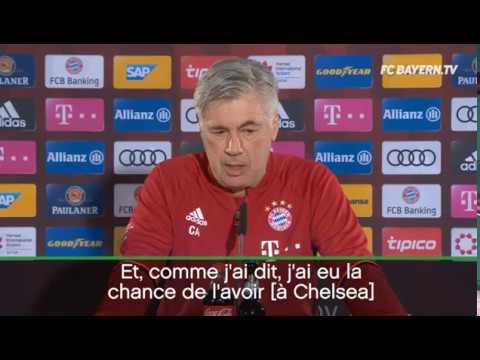 "BAYERN MUNICH - Carlo Ancelotti ""Lampard IS A FANTASTIC PLAYER"""