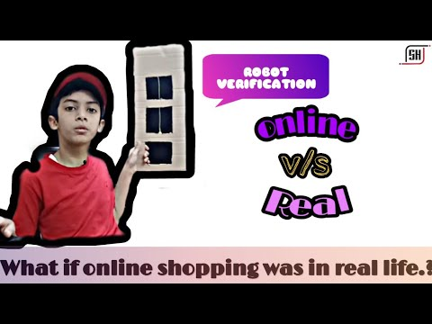 • What If Online Shopping Was In Real Life • | SH CREATIVES |
