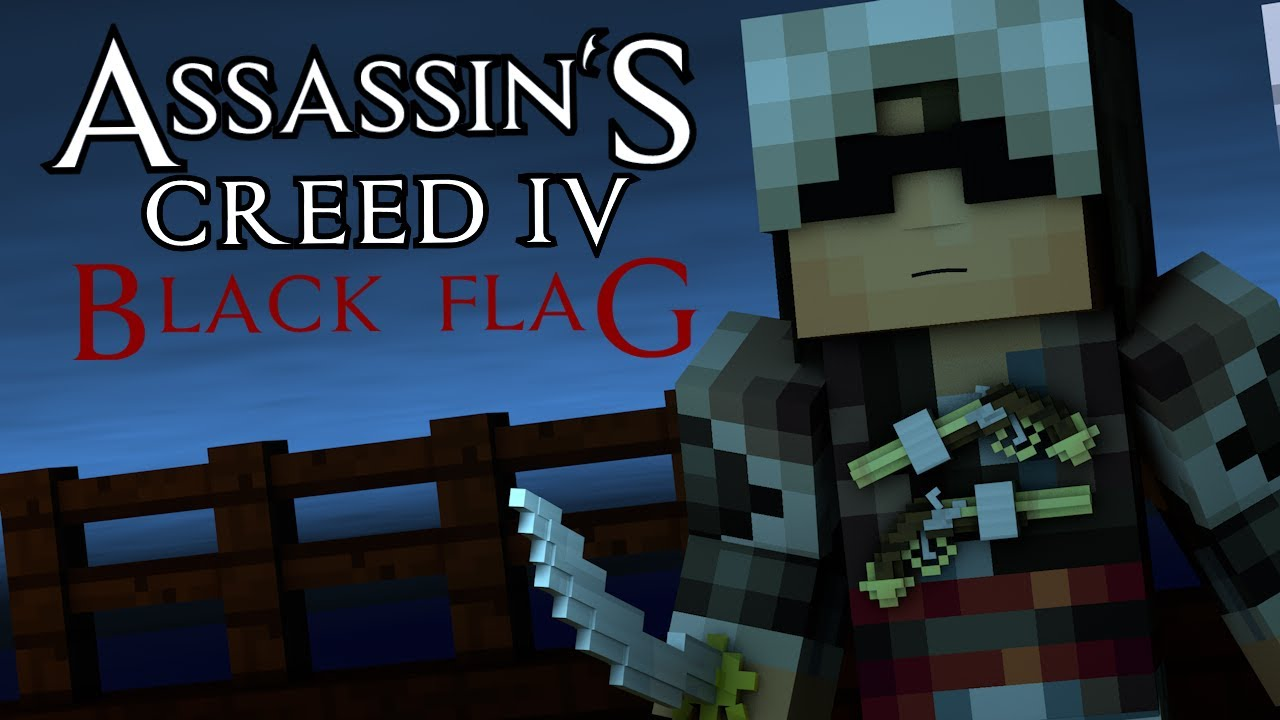 Download Minecraft Animation : ASSASSINS CREED 4! (Sky Edition)