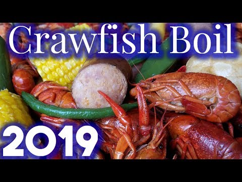 CRAWFISH BOIL - LOUISIANA STYLE (How To)