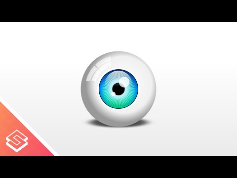 Inkscape Beginner Tutorial: Vector Eyeball