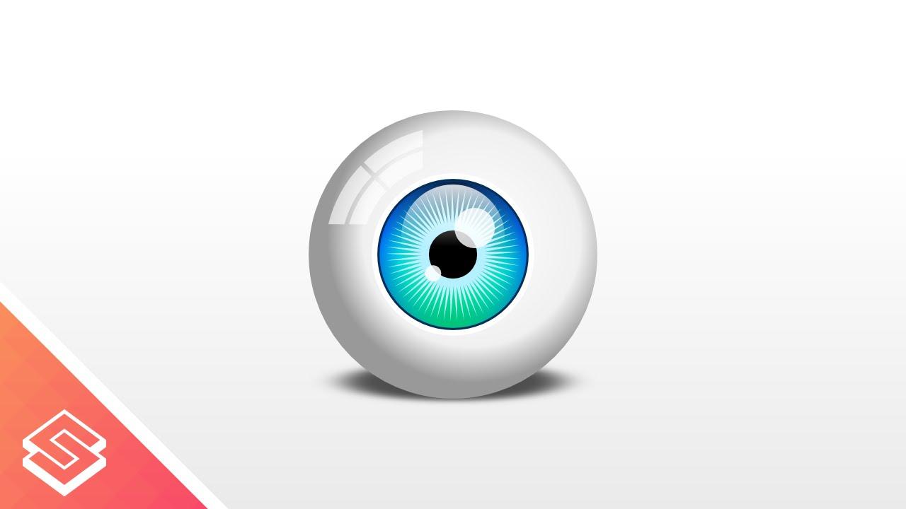 inkscape beginner tutorial vector eyeball youtube rh youtube com eyeball vector free download vector eyeball inkscape