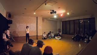 SAKURAJIMA  HIP-HOP SOLO BATTLE MASTER BEST4 @YANA vs HIMEKA