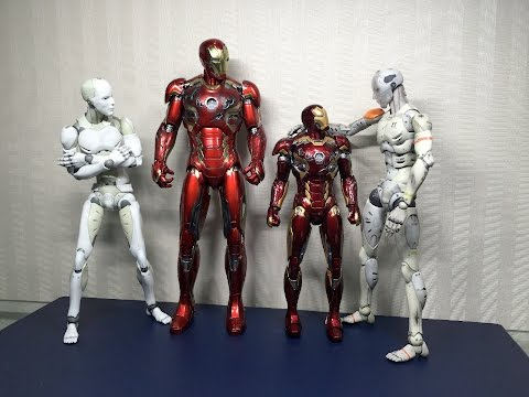 Mark 45 by King Arts vs Mark 45 by Hot Toys
