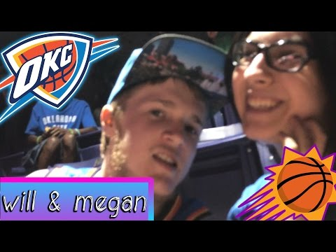 We Went to an NBA Game! OKC Thunder @ Phoenix Suns! (March 3, 2017)
