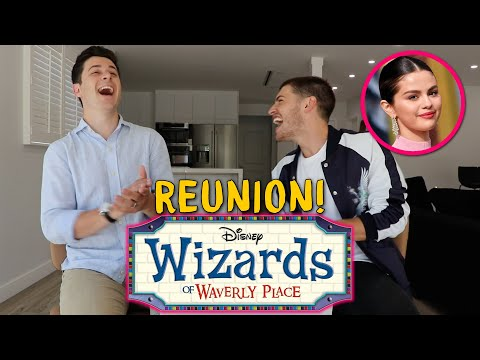 Reacting to Wizards of Waverly Place Clips (w. David Henrie) | Gregg Sulkin and Cameron Fuller