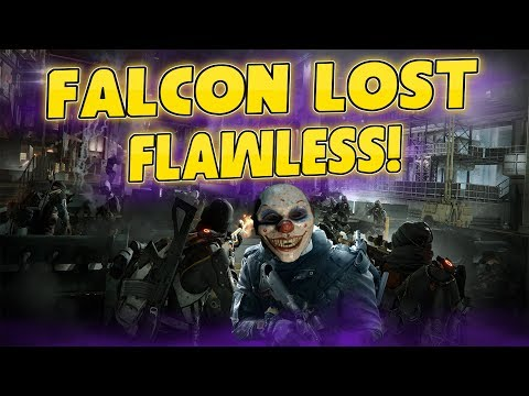 HOW TO GET THE CLOWN MASK! - FLAWLESS FALCON LOST! - The Division 1.7.1