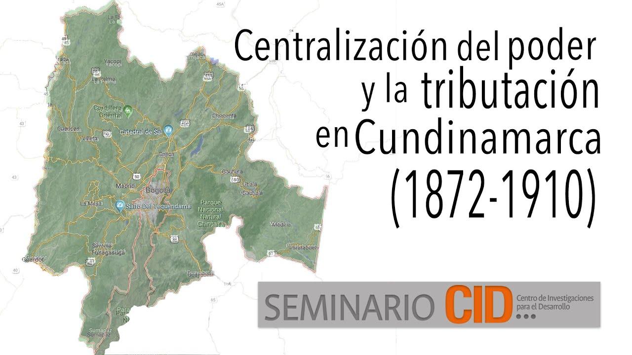 Efectos fiscales del centralismo: Las finanzas de Cundinamarca