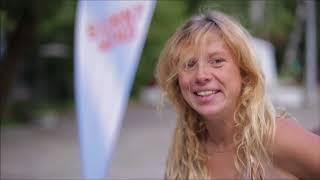 Веста - участница лагеря пляжного волейбола  Sunny wind