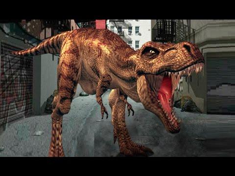 Динозавр Рекс в Нью Йорке NY REX Флеш игра