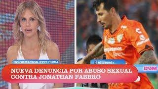 Nueva denuncia por abuso sexual contra Jonathan Fabbro