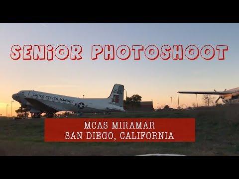 Sesi foto di Pangkalan Marinir, MCAS Miramar, California.