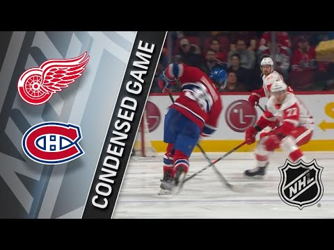 03/26/18 Condensed Game: Red Wings @ Canadiens