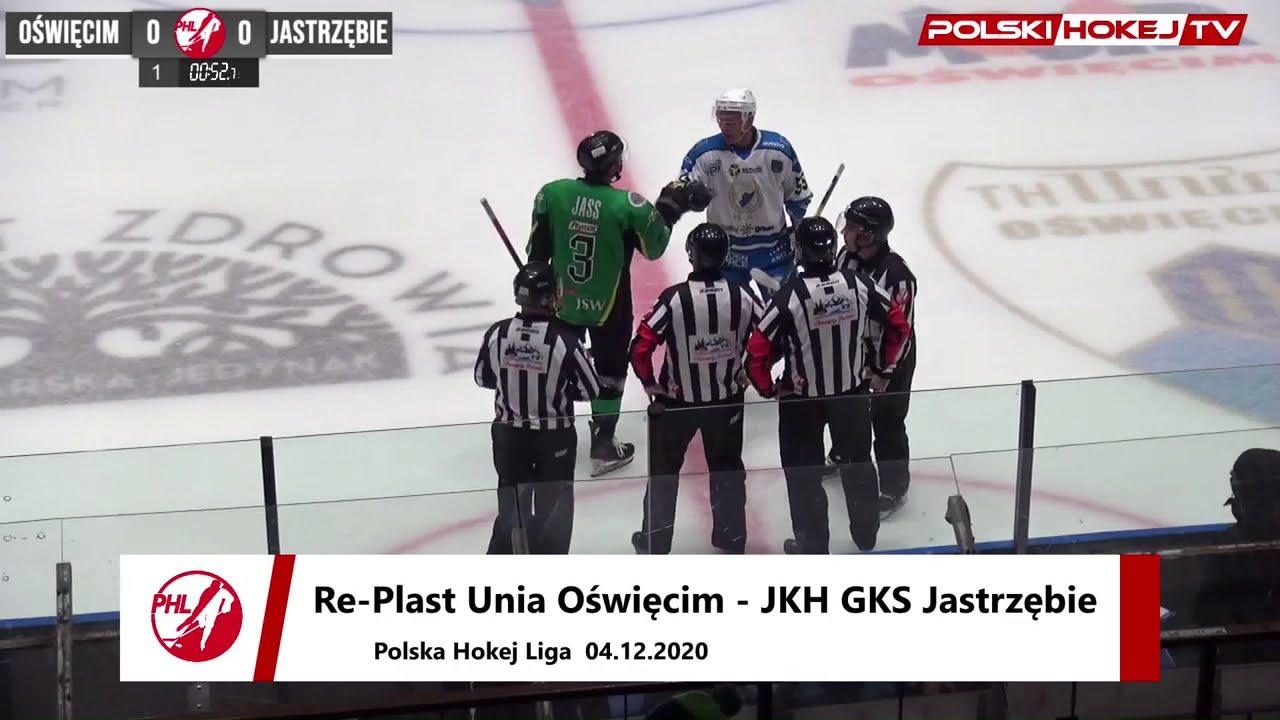 Re-Plast Unia Oświęcim - JKH GKS Jastrzębie 0:3
