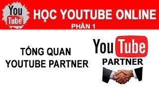 Học Youtube Online - Bài 1- Giới thiệu khóa học online kiếm tiền với youtube