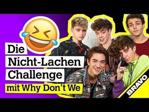 Why Don't We Interview: Nicht-Lachen-Challenge mit Fan-Komplimenten