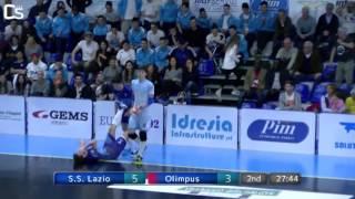 Calcio a 5, Finale Juniores: S.S. Lazio - Olimpus, highlights e interviste