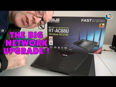 The BIG Network Upgrade ft Asus RT-AC88U