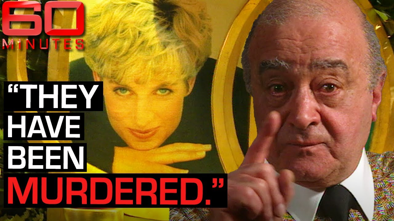Princess Diana and Dodi were murdered says Mohamed Al Fayed