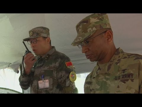 U.S. and China carry out joint military drills